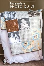 Best 25+ Memory quilts ideas on Pinterest | Shirt quilts, Photo ... & How to make a simple photo memory quilt, a great handmade gift idea for  Christmas Adamdwight.com