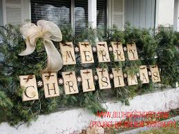 Outdoor Christmas Decoration Easy Outdoor Christmas Decorations To Make Diy Outdoor Xmas