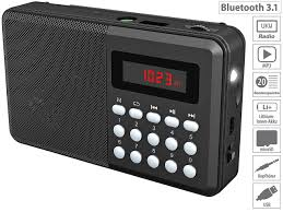 Auvisio Mini Radio Bluetooth Fm Taschenradio Amazonde Elektronik
