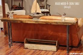 reclaimed wood and metal furniture. exellent wood rustic wood u0026 iron table diy on reclaimed and metal furniture w