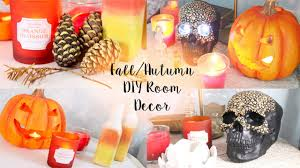diy tumblr pinterest room decor for autumn fall room decor