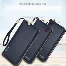 luxury pu leather smartphone smartphone wallet large zip around wallets wallet mens