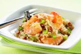 asian pecan shrimp   rice salad