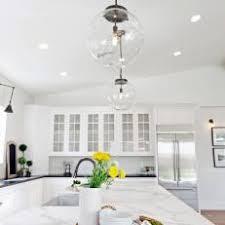 glass ball pendant lighting. Contemporary Kitchen With Globe Pendant Lights Glass Ball Pendant Lighting T