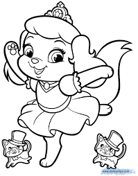 Small Picture Palace Pets Coloring Pages Disney Coloring Book