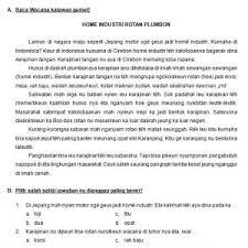 Soal dan jawaban latihan usbn bahasa indonesia sd tahun 2019/2020 (disini). Soal Us Bahasa Sunda Kelas 6 Dan Kunci Jawaban Mudah