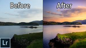 how to create stunning sunset photos adobe lightroom 6 cc landscape photography editing tutorial you