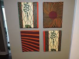 african textile wall art