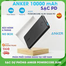 Pin sạc dự phòng Anker PowerCore Slim 10000 PD - A1231
