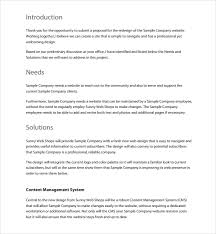10 Website Design Proposal Templates Word Pdf Pages