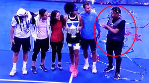 After weeks of rumors, naomi osaka confirmed her relationship with rapper ybn cordae. Us Open 2020 Naomi Osaka S Awkward Boyfriend Moment