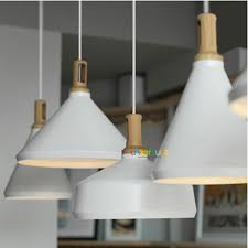 white glass shade chandelier pl357