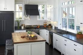 white kitchen black countertops view in gallery walnut mill by inc white kitchen black appliances countertops