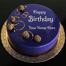 Happy Birthday Cake Name Editor Gif