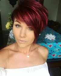 Redhair Pixie Shorthair Hairstyles Inspiration Pinterest