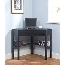 A Sophisticated Corner Desk For Small Spaces
