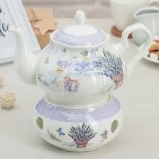 <b>Чайник заварочный с подставкой</b> для подогрева «Лаванда ...