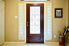 replacement door glass with blinds