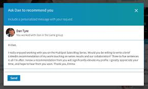 How To Get A High Quality Linkedin Recommendation Email Template