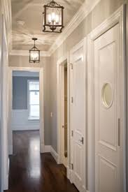 best hallway lighting. hallway lights like the grey with white trims too best lighting r