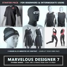 Photo Designer 7 Marvelous Designer 7 Tutorial Starter Pack On Behance