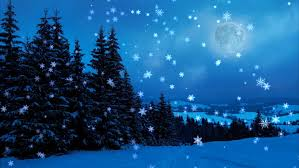 winter background images hd. Interesting Winter New Yearchristmas3d Winter Background And Moon For Winter Background Images Hd