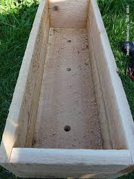 how to make rustic rail planter boxes