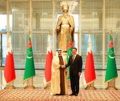 جريدة البلاد | جلالة الملك يعقد جلسة مباحثات رسمية مع رئيس تركمانستان