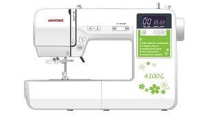 Обзор <b>швейной</b> машины <b>JANOME 4100L</b> - описание ...
