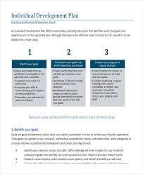 individual development plan examples career development plan examples oyle kalakaari co