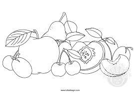 Frutta Estiva Da Colorare Tuttodisegnicom
