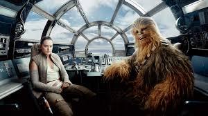 Rey Chewbacca Star Wars: The Last Jedi ...