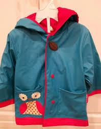 Skip Hop Raincoat Size Chart Skip Hop Zoo Rain Jacket Owl Little Kid Coat 235857 Size Medium Us 3 4