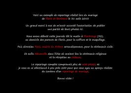 Exemple De Reportage De Mariage Didier Ropers Photographe