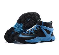 lebron kids sneakers. black blue basketball shoes lebron james nike kids sneakers