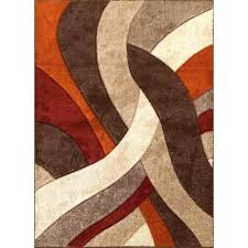 tan area rug inspirational 8 x brown orange red alpha rugs furniture plural amp modern distressed
