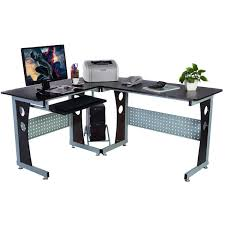 Light Oak Corner Computer Desk Buy Picotech Wood L Shape Corner Computer Desk Furniture