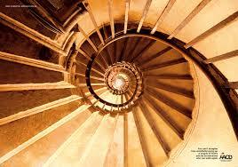 Resultado de imagem para escada infinita