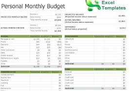 X Sample Excel Expense Spreadsheet Home Budget Business