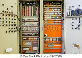 electricity distribution box with wires and circuit breakers (fuse cost to replace fuse box with breaker panel electricity distribution box with wires and circuit breakers (fuse box) csp19428370