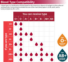Iv Compatibility Chart Pdf 48 Abundant Compatibility Chart For Red Blood Cells
