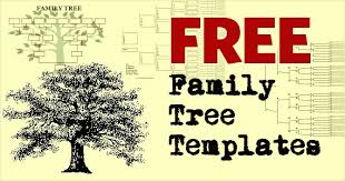 Download Free Family Tree Templates