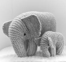 Elephant Knitting Pattern
