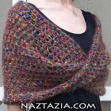 Free Shawl Crochet Patterns Delectable Best Free Crochet Shawl Patterns Free Crochet Mobius Twist Shawl
