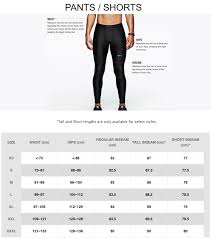 Apparel Size Chart