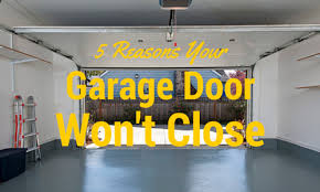 garage door won t open5 Reasons Your Garage Door Wont Close  All Pro Door Repair