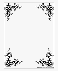 Download Halloween Border Project Page Border Design