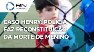 Caso Henry: Polícia faz reconstituição da morte de menino sem a presença da  mãe e do padrasto - YouTube