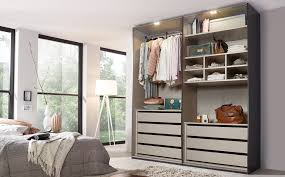 wardrobe with drawers clothes lift interior light and a shelf insert
