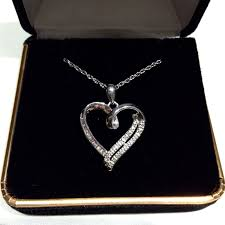 kay jewelers diamond sterling silver pendant necklace from kay jewelers